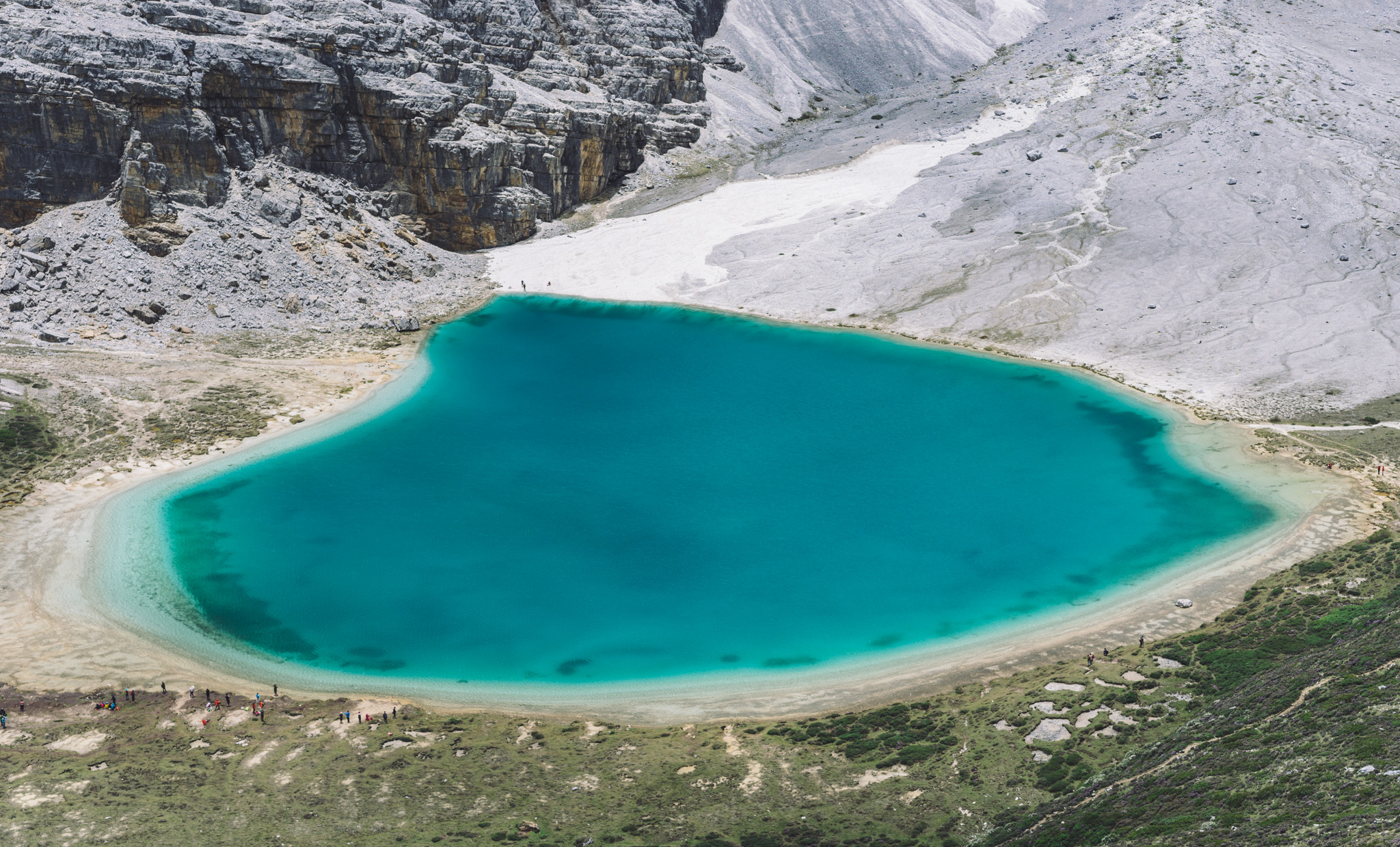 Milk Lake from above