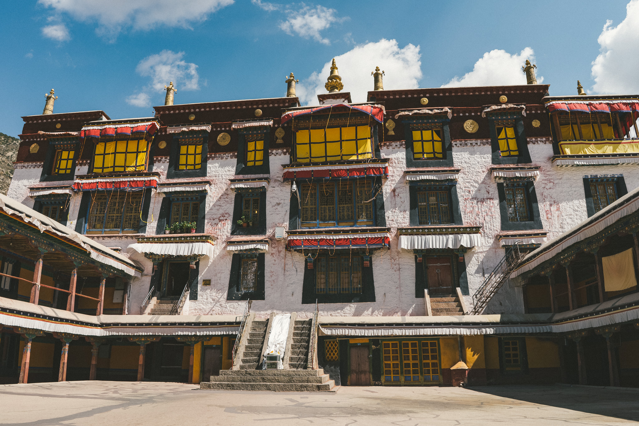 A monastery in Tibet
