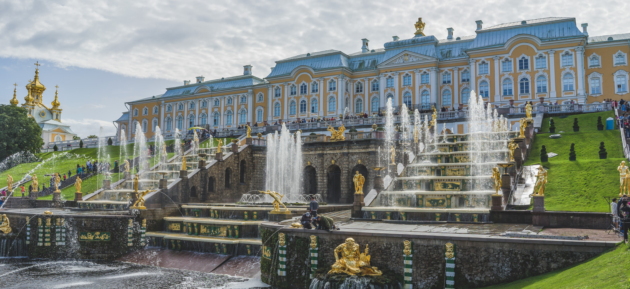 Peterhof Palace near Saint Petersburg