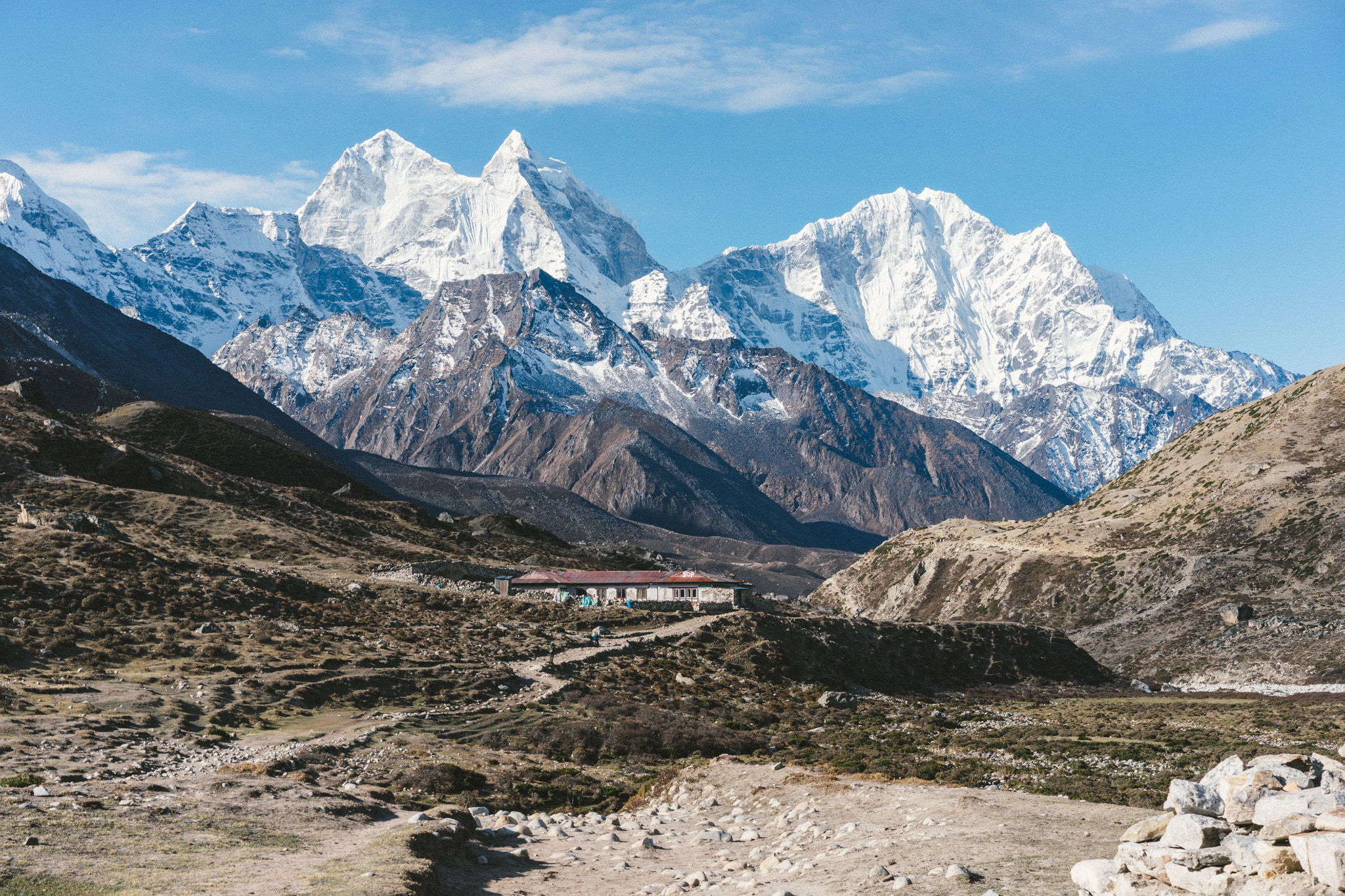 Incredible views on the Everest Base Camp trek