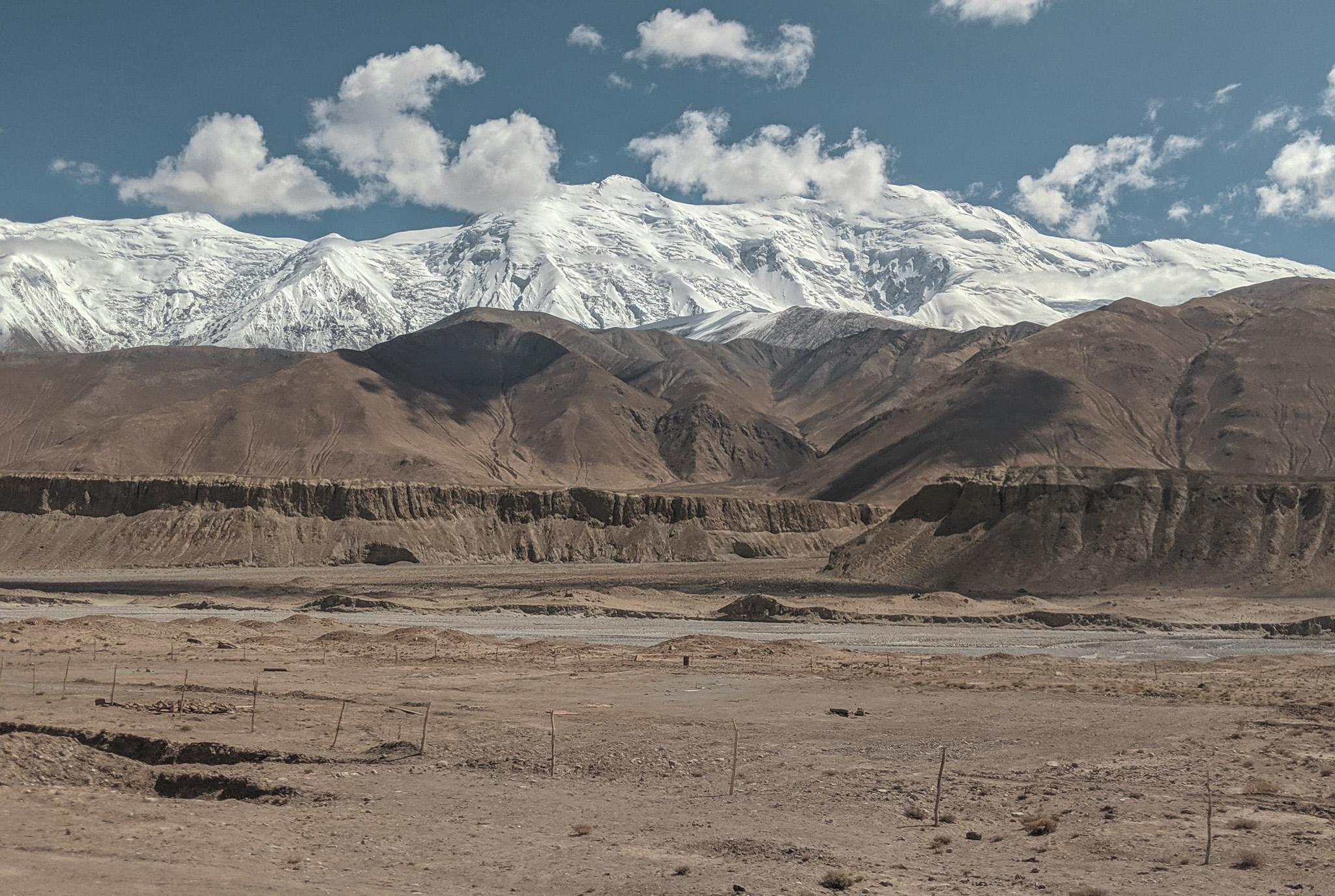 Views on the Tashkurgan to Kashgar drive