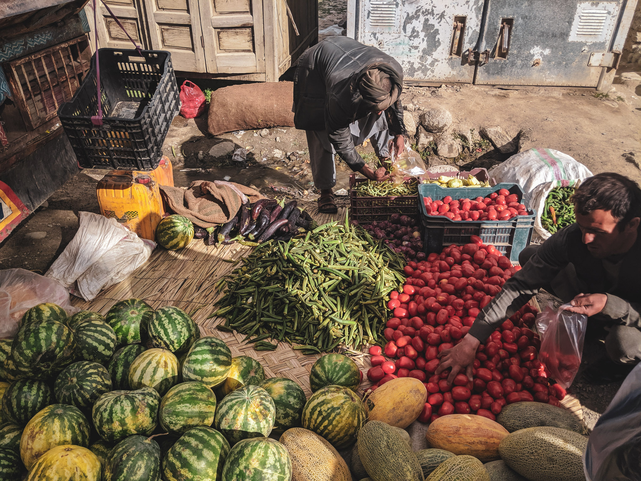 Fruit in Ishkashim bazaar