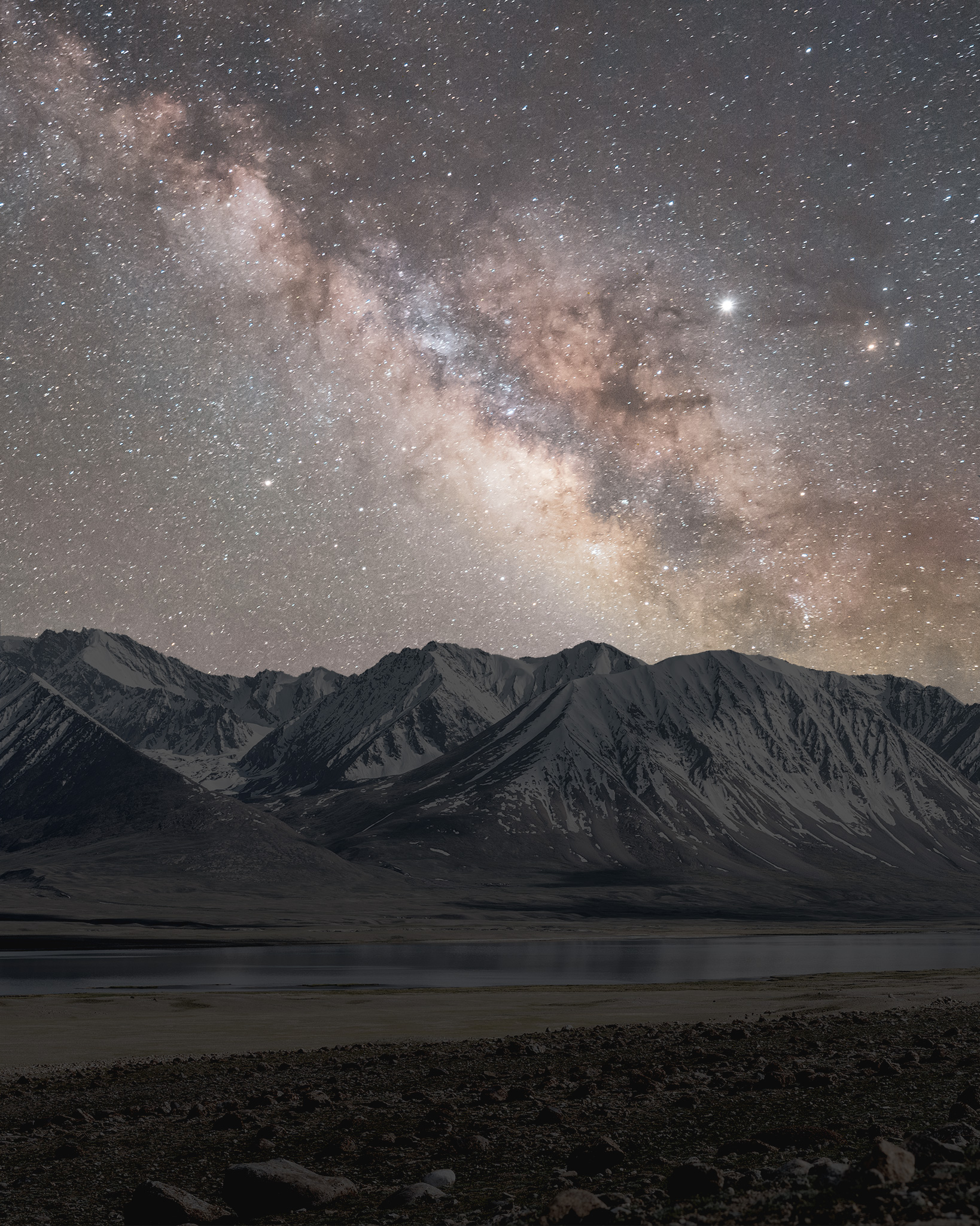 Starry night in the Wakhan Corridor