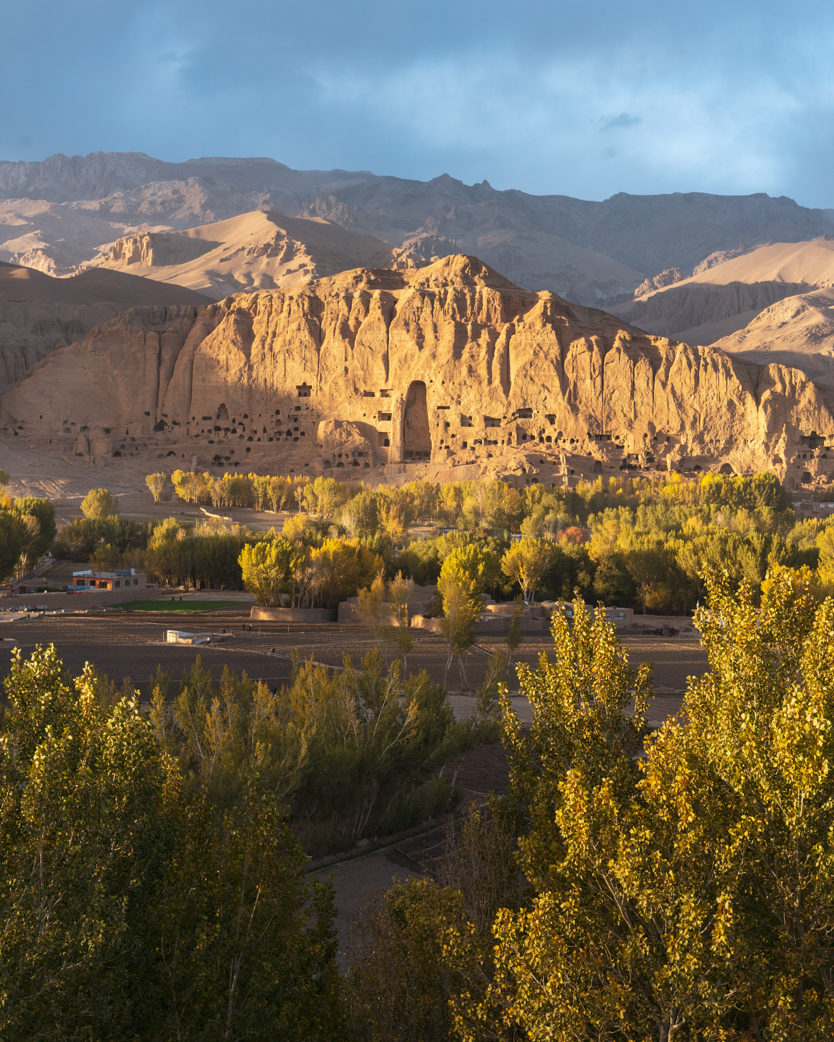 Remnants of the Buddhas of Bamiyan