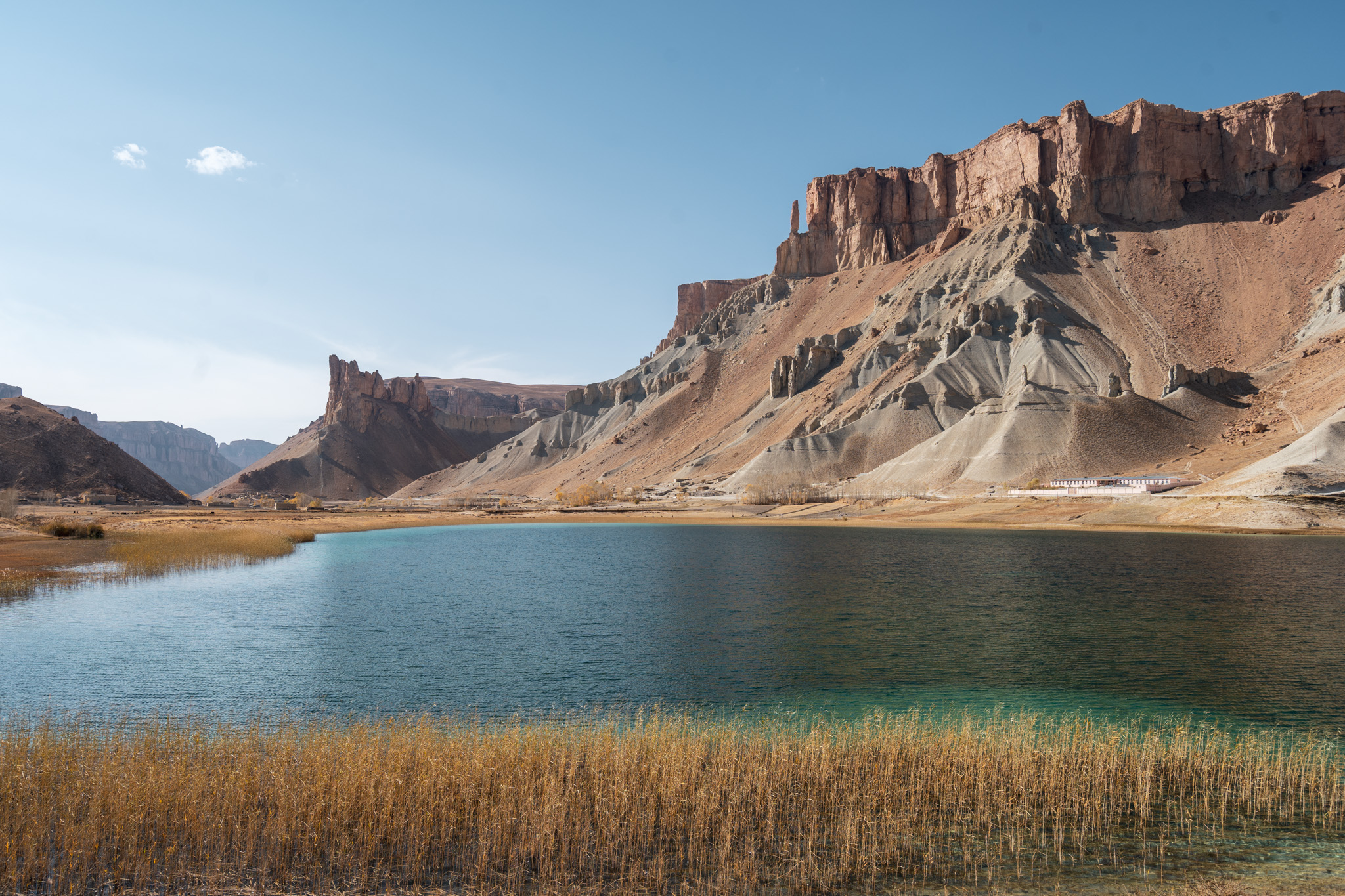 Amazing autumn views in Band-e-Amir National Park