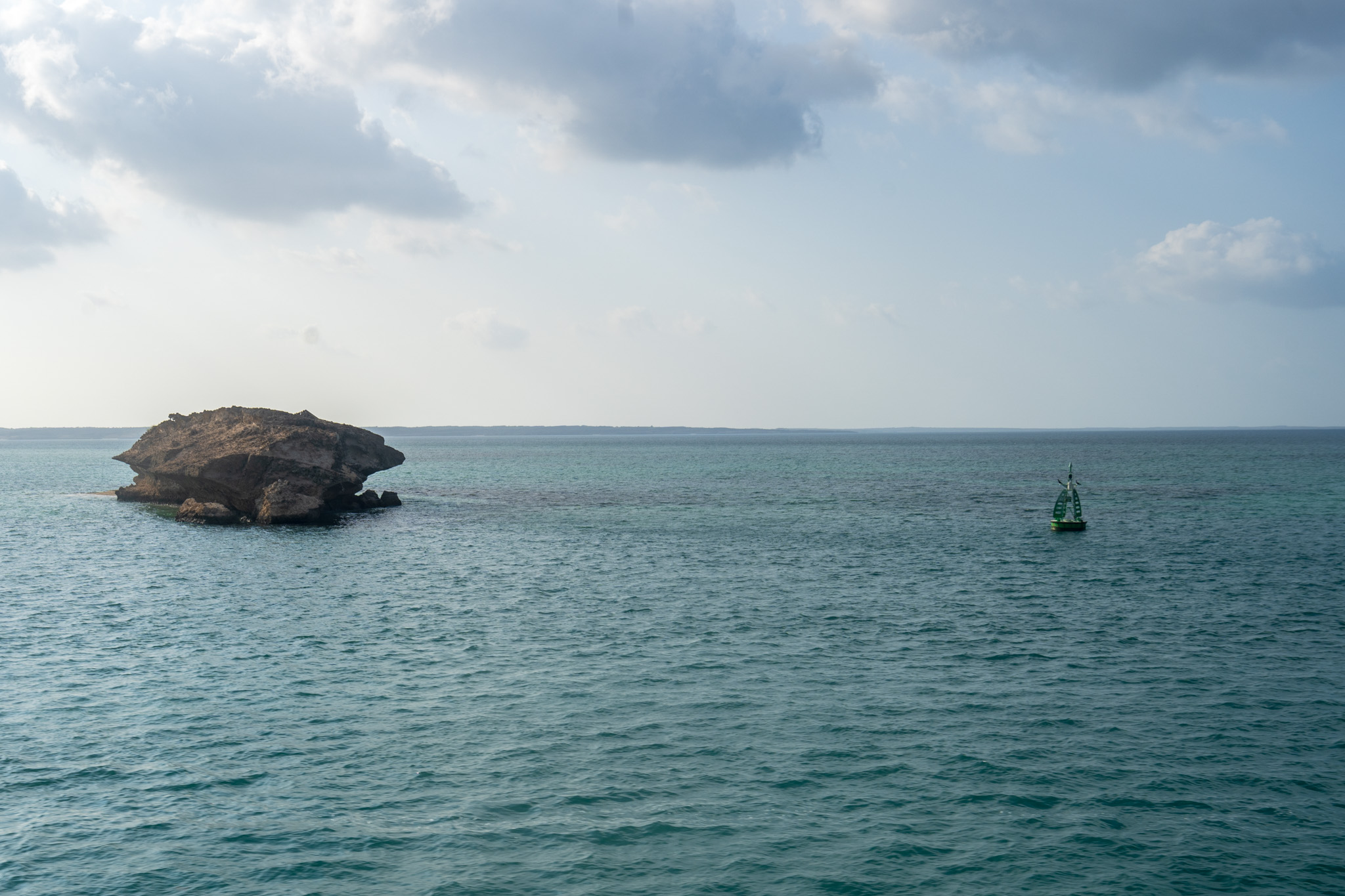 One of the smaller islands in the Farasan Archipelago