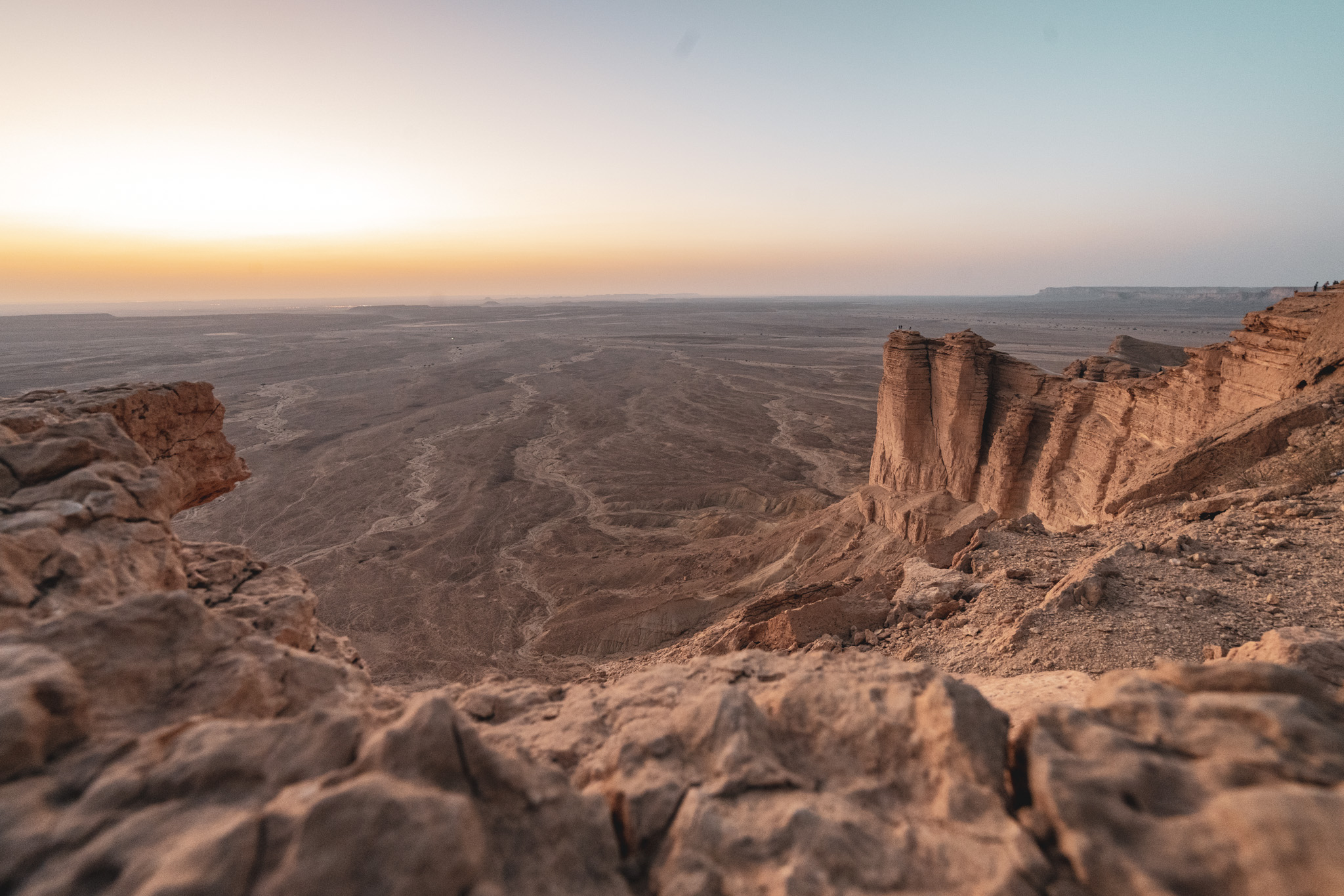 Beautiful Edge of the World in Saudi Arabia
