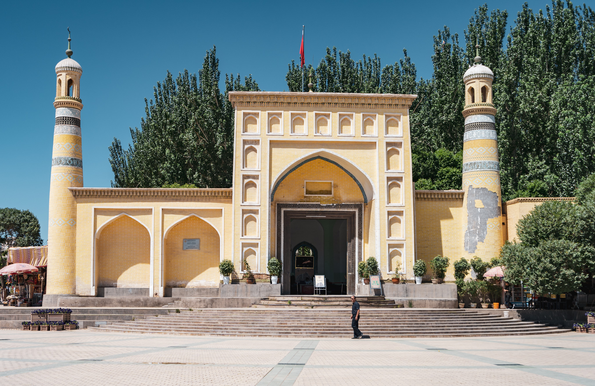 The Id Kah Mosque in Kashgar, China