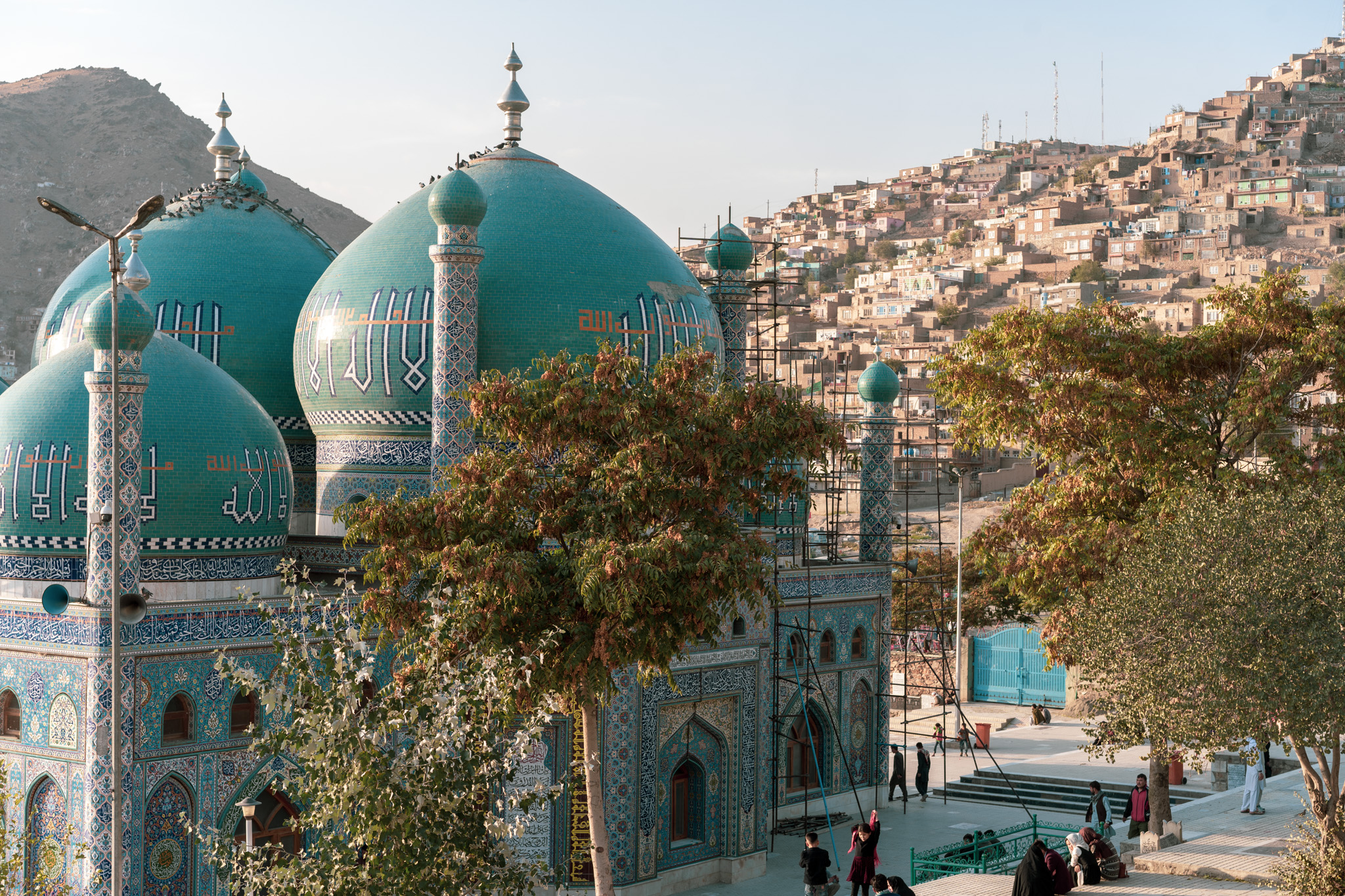 Kart-e-Sakhi, one of the beautiful mosques of Kabul
