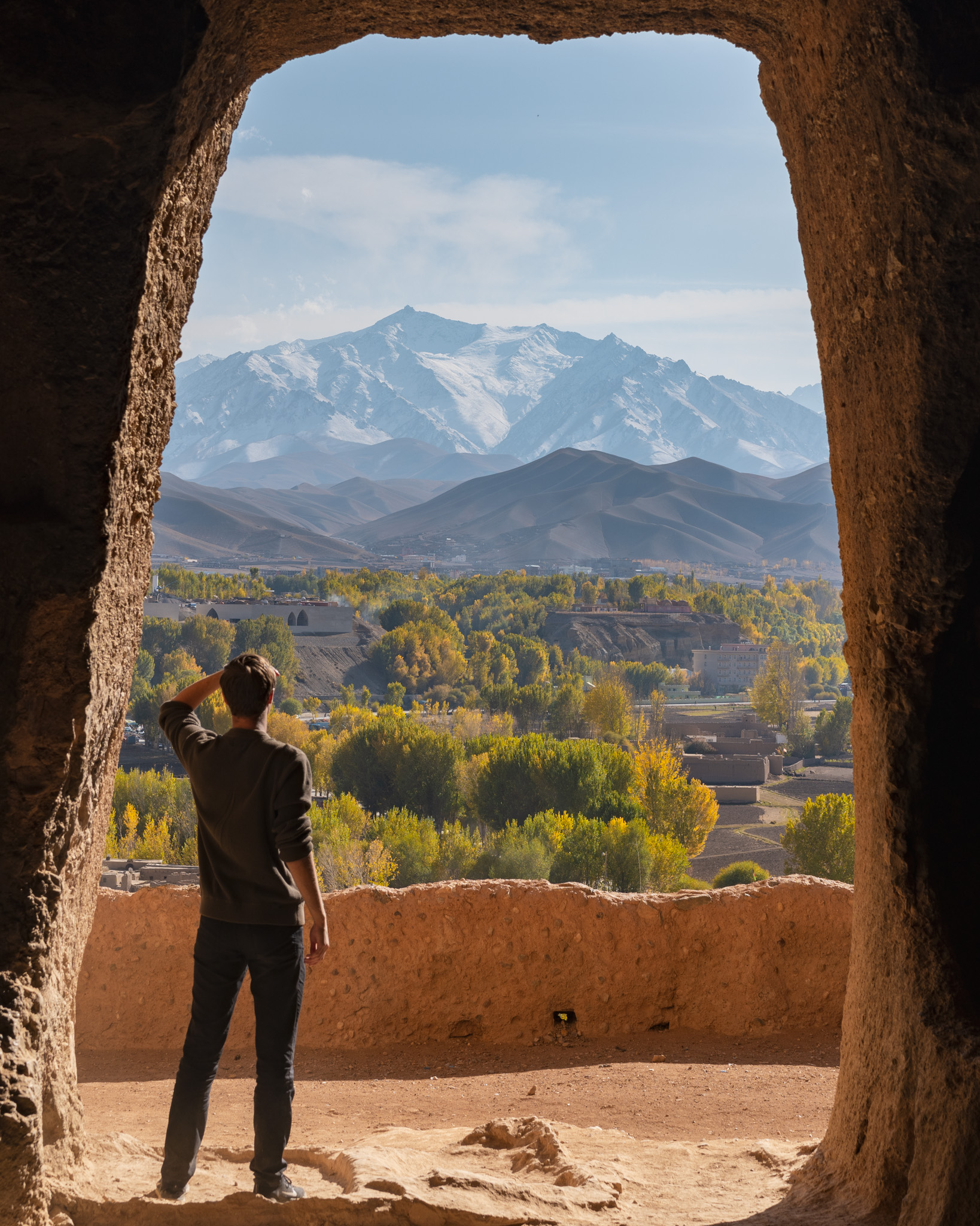 Autumn has gotta be the best time to visit Bamiyan