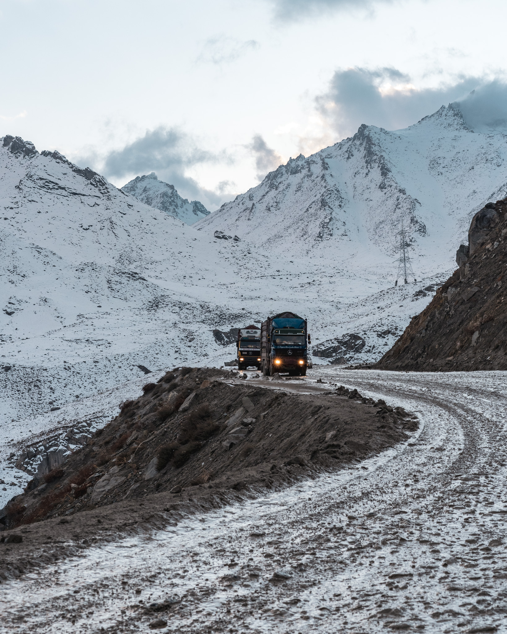 Crossing the Salang Pass