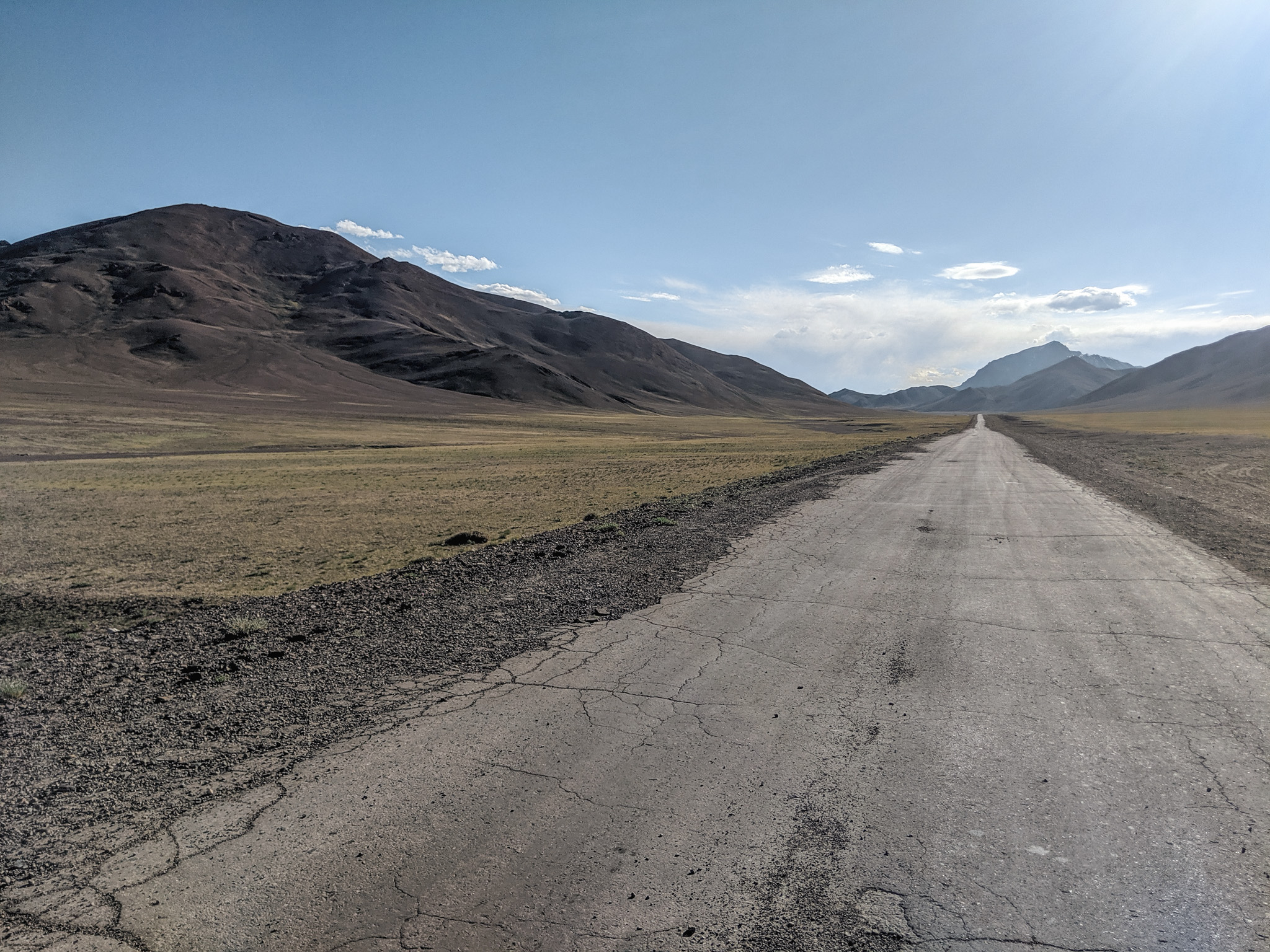 Somewhere along the Pamir Highway in Tajikistan