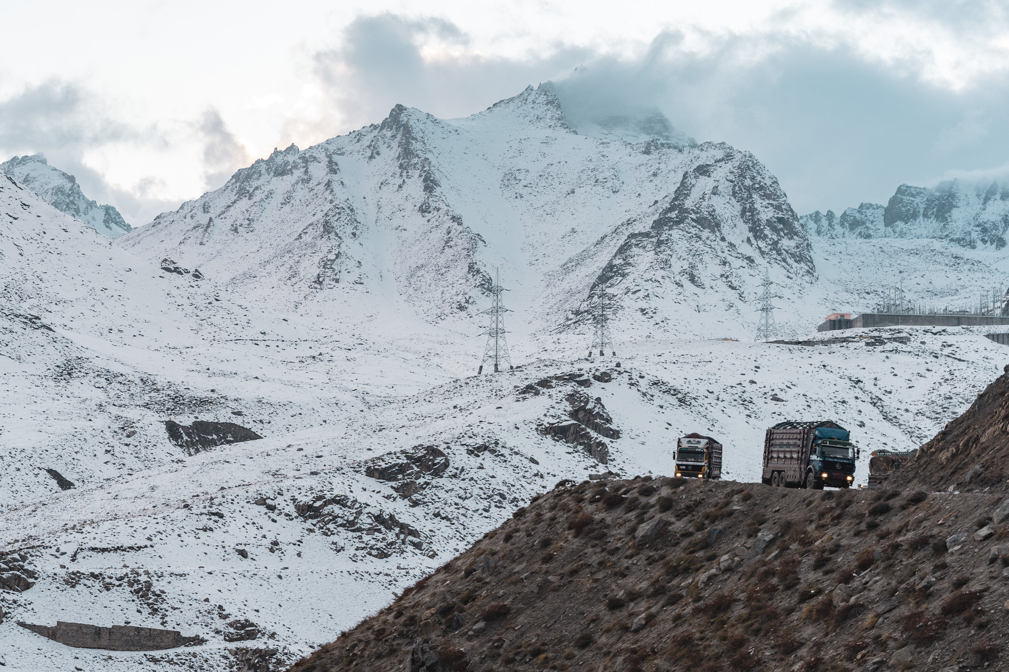 Crossing the Salang Pass from Kabul to Mazar-e-Sharif