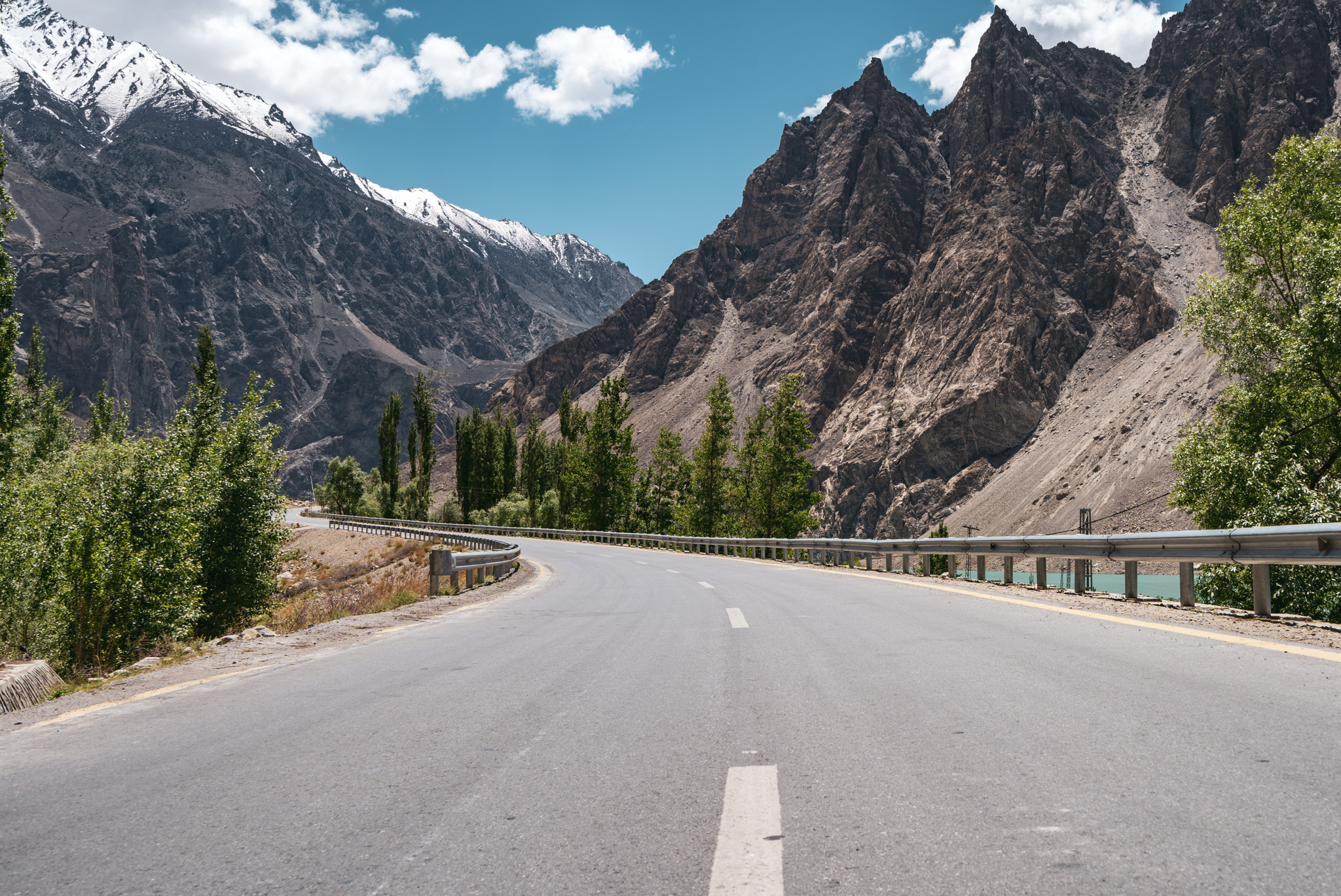Somewhere along the Karakoram Highway