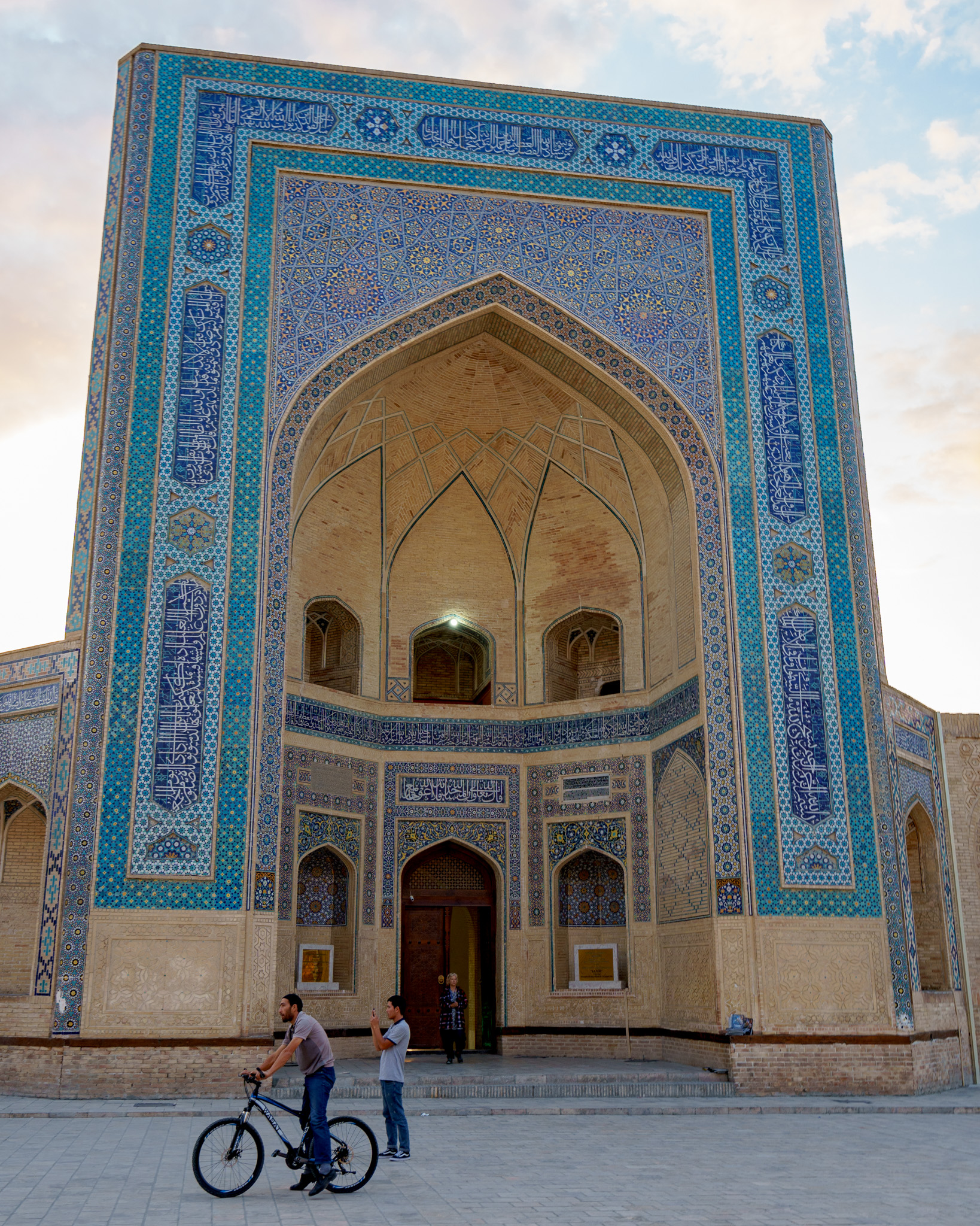 A peaceful sunrise in Bukhara, Uzbekistan