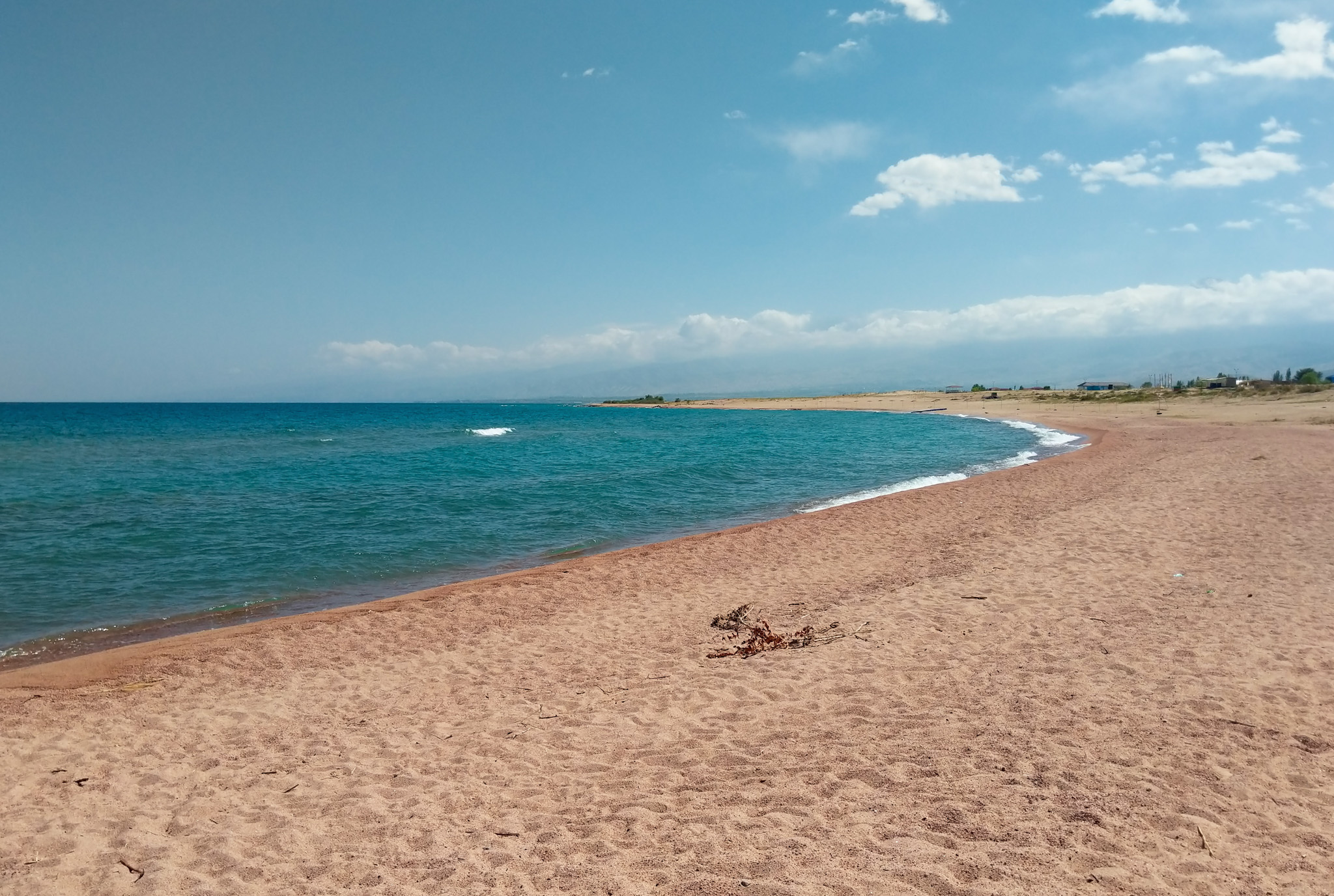 Consider a visit to Issyk-Kul's beaches if you're in Kyrgyzstan in the summer!