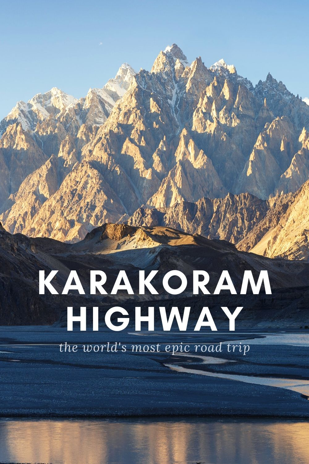 Karakoram Highway Travel Guide Pin